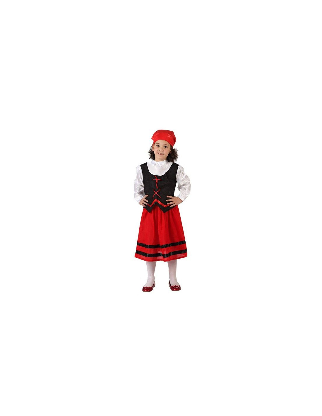 disfraz pastora roja nia