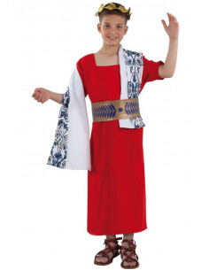 Disfraz Cesar romano infantil