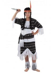 Disfraz india cherokee niña