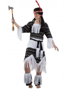Disfraz india cherokee  Modelo-Único Tallas-S