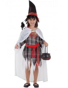Disfraz bruja malvada infantil