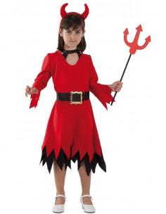 Disfraz diablesa infantil