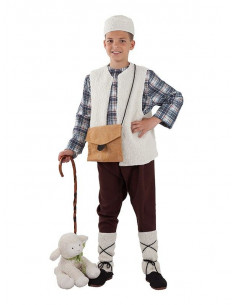 Disfraz pastor niño
