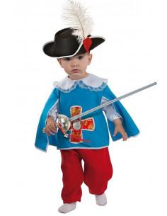Disfraz mosquetero bebé  Modelo-Único Tallas-12 meses