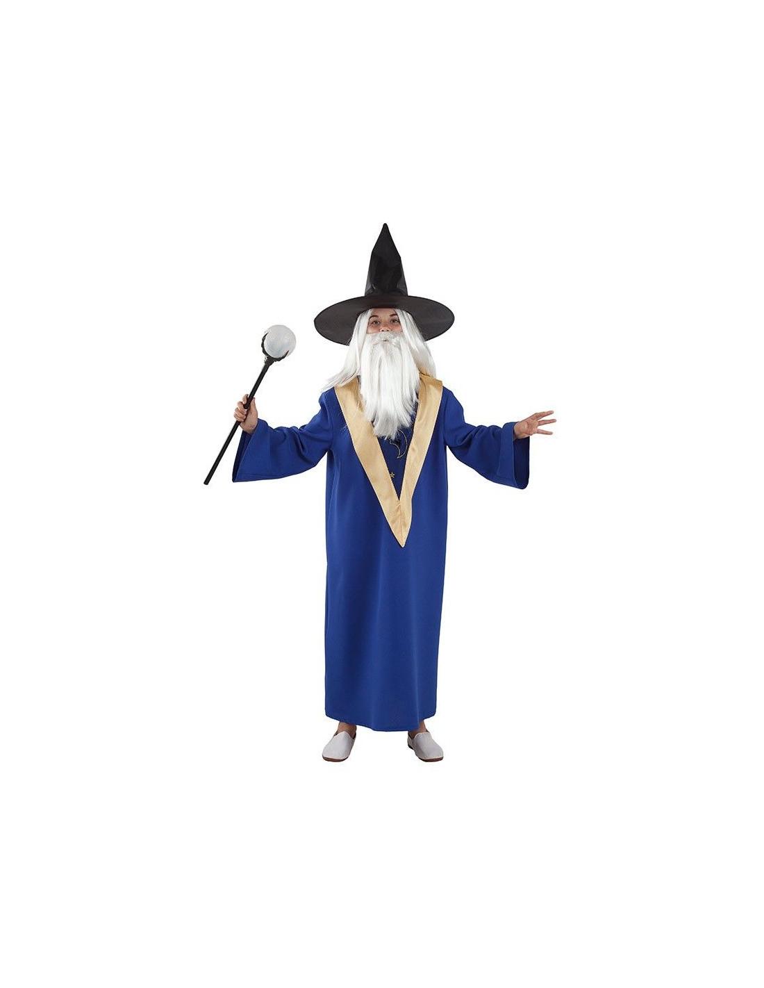 727bc897f Disfraz de Mago Merlín para niño - Comprar en Tienda Disfraces Bacanal