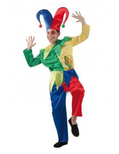 Disfraz bufón infantil