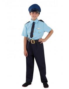 Disfraz piloto avión infantil