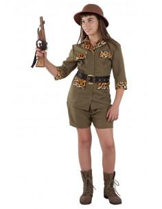 Disfraz exploradora safari niña