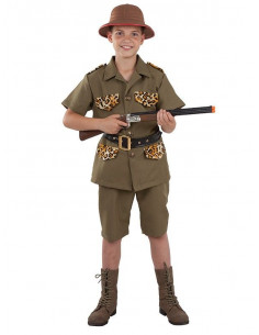 Disfraz explorador safari niño