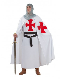 Disfraz templario medieval
