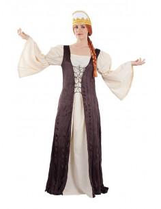 Disfraz reina Castilla medieval