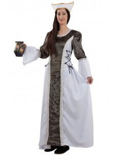 Disfraz dama medieval Isabel