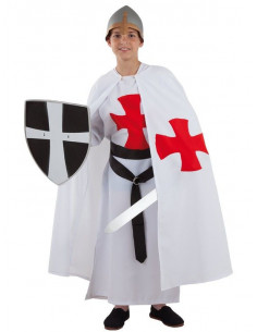 Disfraz templario medieval infantil