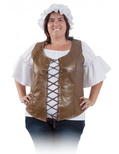 Chaleco medieval mujer
