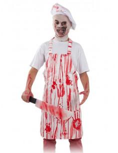 Set cocinero Halloween infantil y adulto