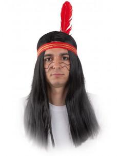 Peluca indio