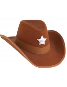 Sombrero sheriff fieltro