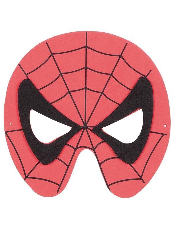 a15a553b85c Antifaz Spider de goma eva - Comprar en Tienda Disfraces Bacanal