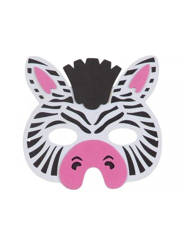 a4a77eefc29 Máscara cebra eva - Comprar en Tienda Disfraces Bacanal