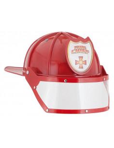 Casco bombero infantil lujo