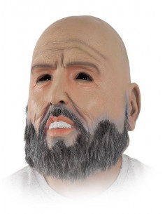 Máscara hombre con barba