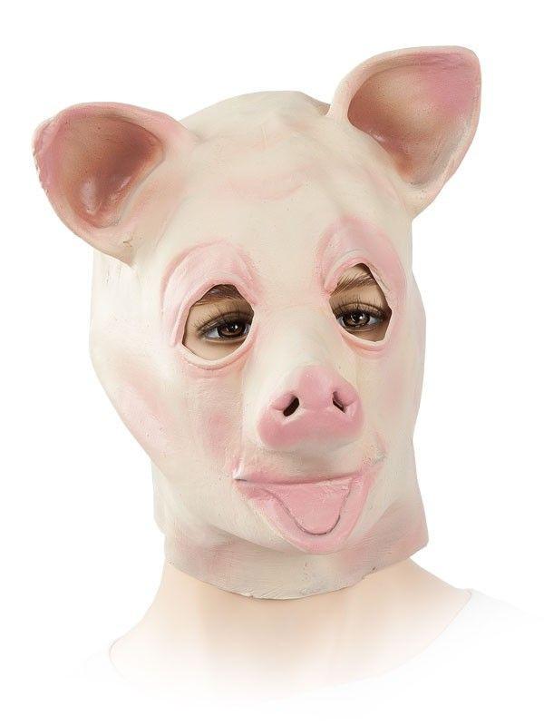Máscara cerdo