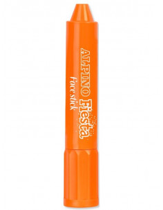 Barra maquillaje naranja con aplicador