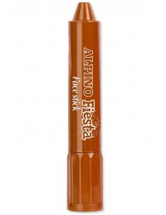 Barra maquillaje marrón con aplicador