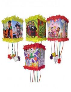 Piñata colorín cumpleaños