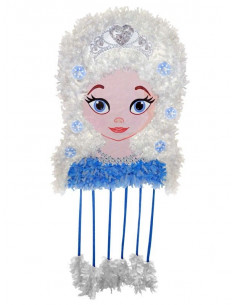 Piñata mediana princesa Elsa Frozen