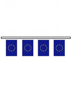 Bandera plástico Europa