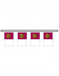 Bandera plástico Castilla La Mancha