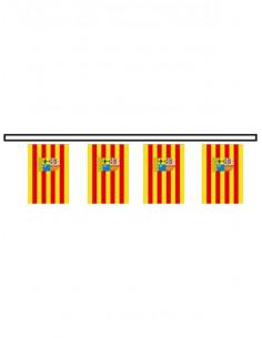 Bandera plástico de Aragón