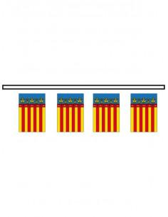 Bandera plástico Comunidad de Valencia