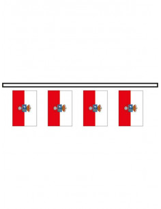 Bandera plástico Cantabria
