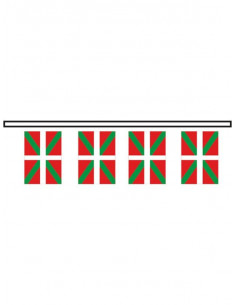 Bandera plástico Euskadi