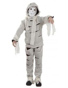 Disfraz de momia niño
