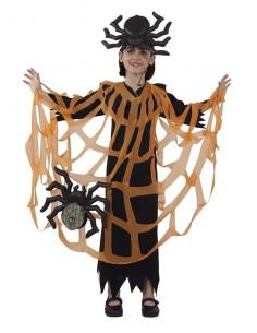 Disfraz araña niña