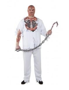 Disfraz zombie desgarrador