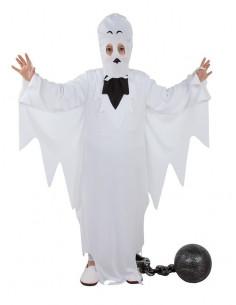 Disfraz fantasma niño