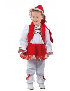 Disfraz caperucita roja bebé