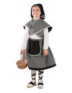 Disfraz campesina infantil