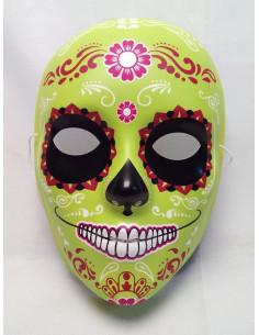 Máscara Catrina verde