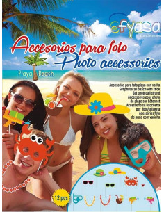 Accesorios Photocall playa para fiestas
