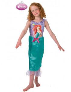 Disfraz sirenita Ariel infantil