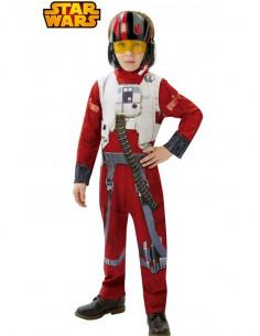 Disfraz piloto rebelde X- Wing niño