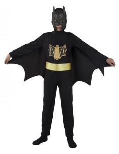 Disfraz superhéroe murciélago infantil