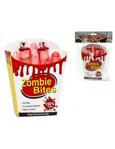Snacks de dedos para zombie