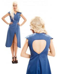 Disfraz Reina de Dragones azul