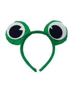Diadema ojos de rana